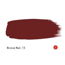 BRONZINĖ RAUDONA 15 - BRONZE RED 15