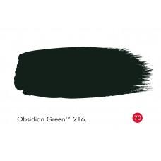OBSIDIANO ŽALIA 216 - OBSIDIAN GREEN 216